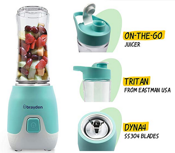 Brayden Fito 1.0, 300 W Sports Blender with BPA Free